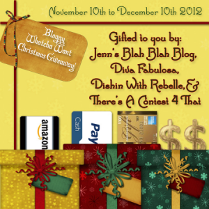 FREE Blogger Opportunity | Bloggy Whatcha Want Christmas Giveaway 2