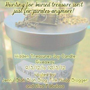 Free Blogger Opportunity | 5 Winners Hidden Treasure Candles 6