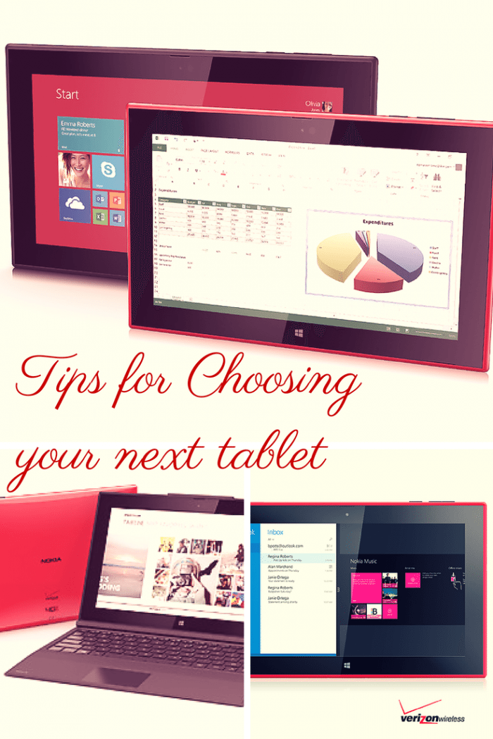 tips for buying your next tablet