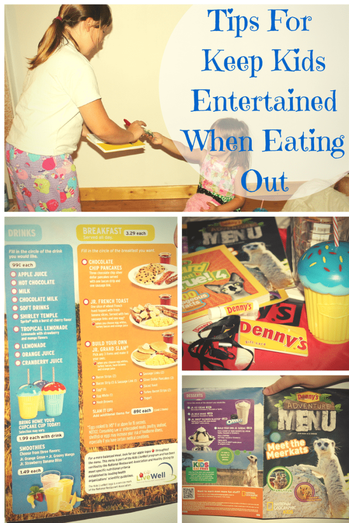Tips For Keep Kids Entertained When Eating Out