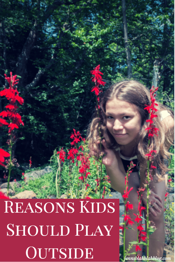 reasons kids should play outside