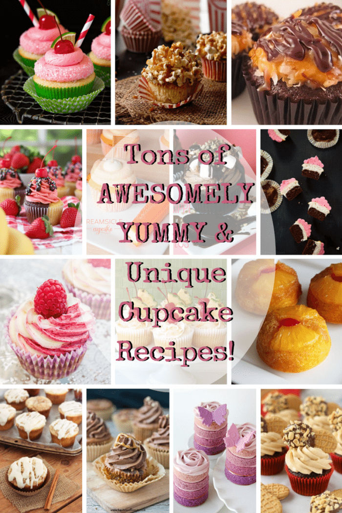 Tons of Awesomely Yummy & Unique Cupcake Recipes