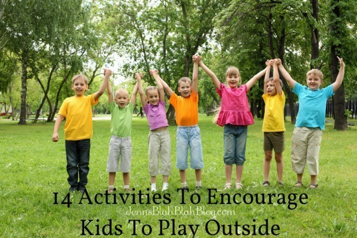 Activities To Encourage Kids To Play Outside