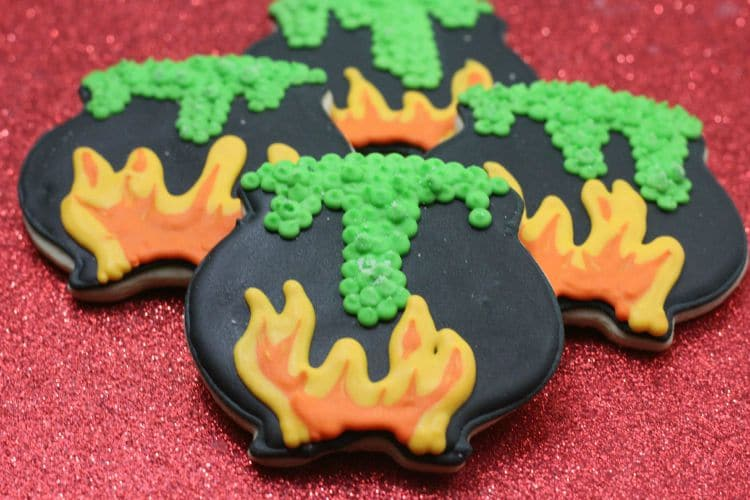 The Witches Cauldron Halloween Cookies Recipes