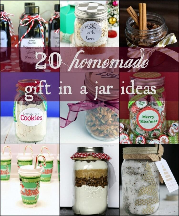 20 Homemade Gifts In A Jar Ideas