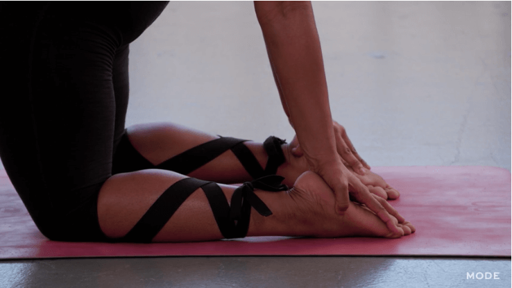 breaking body barries with yoga