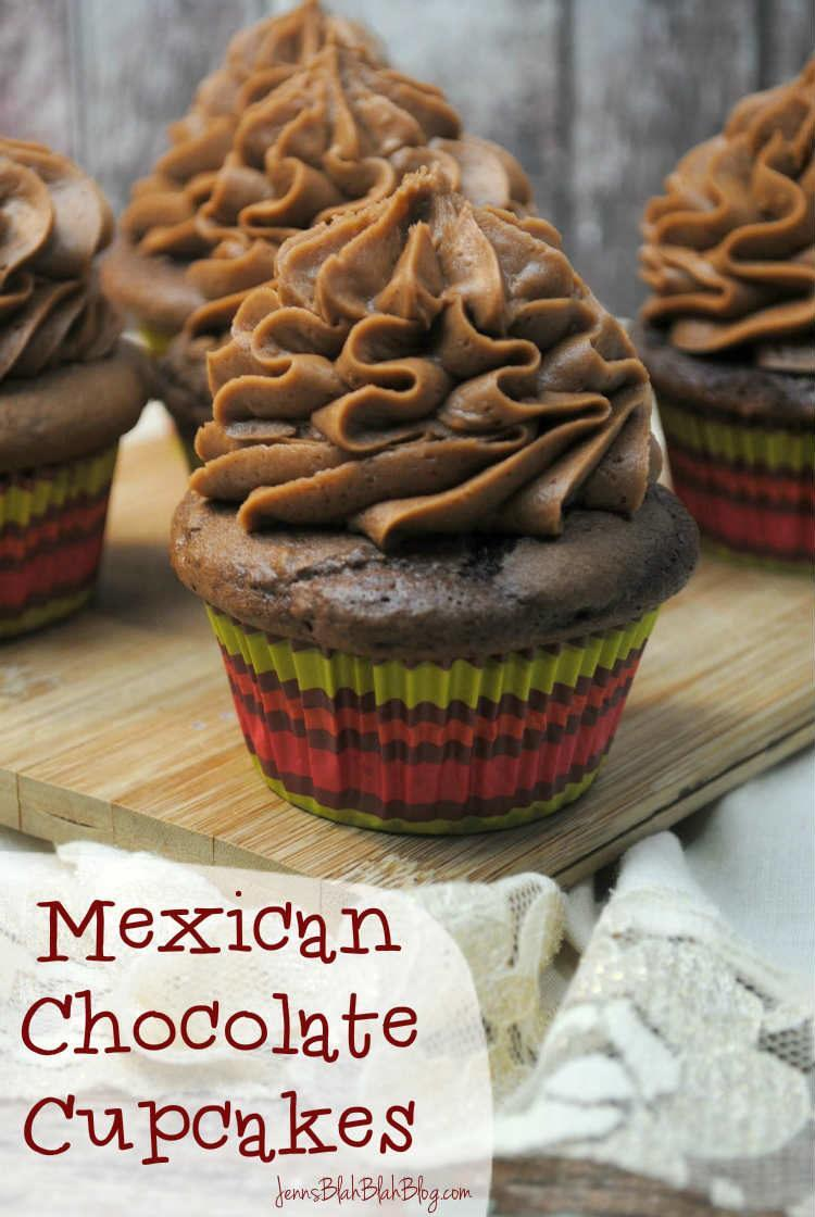 Mexican Chocolate Cupcakes REcipe