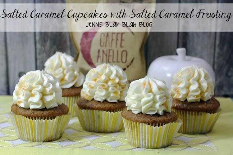 Salted Caramel Cupcakes with Salted Caramel Frosting
