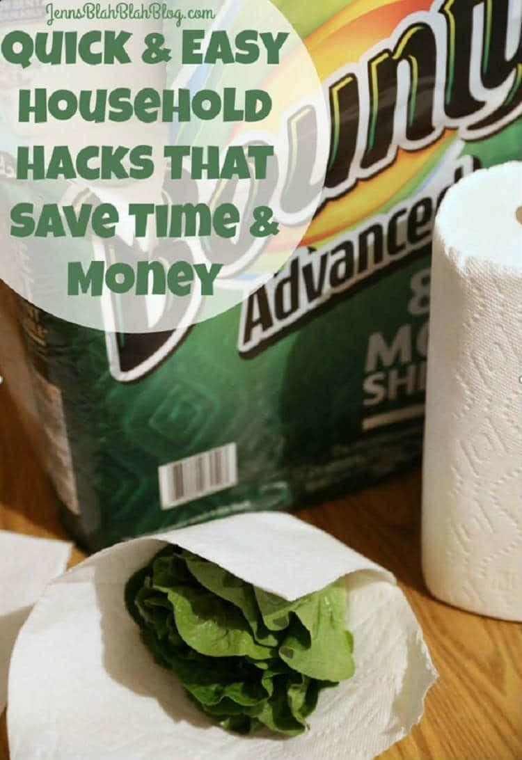 Quick and Easy Household Hacks to Save Time and Money