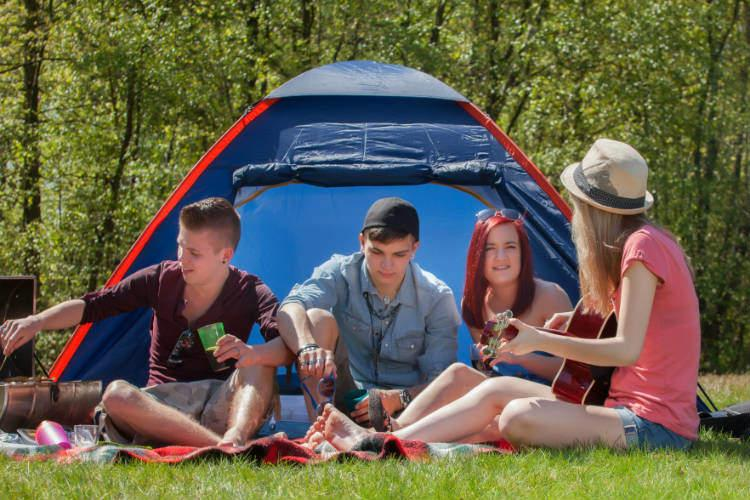 Tiny Tricks to Make Camping a Little Less of a Hassle This Summer
