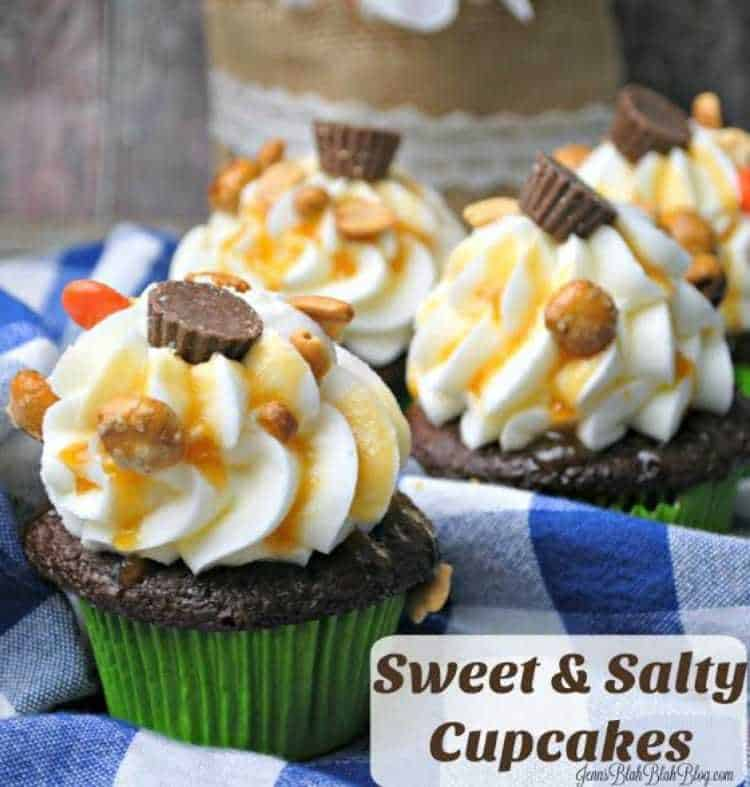 Sweet and Salty Cupcakes