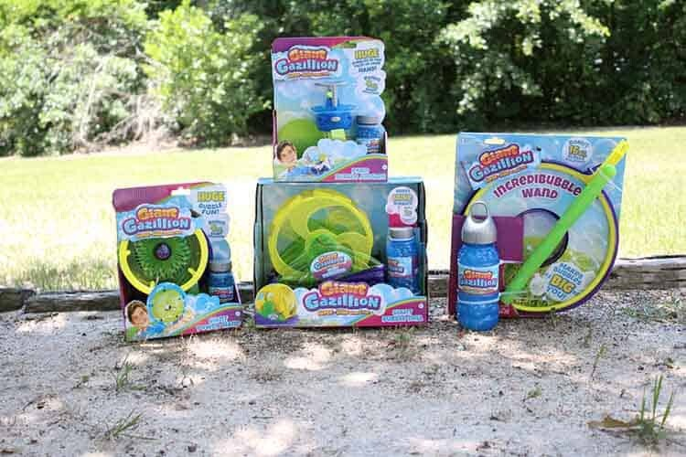 Have a Family Fun Day with Gazillion Bubbles 2