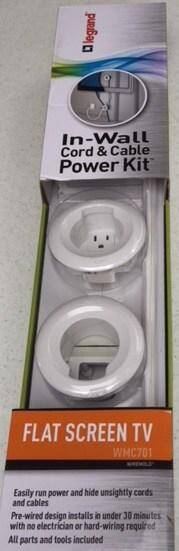 Easily Hide Unsightly Power Cords and Cables 13
