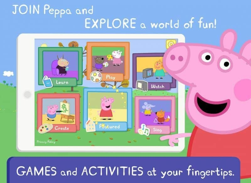 World of Peppa Pig App Review 4