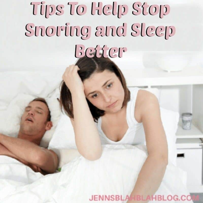 Tips To Help Stop Snoring and Sleep Better
