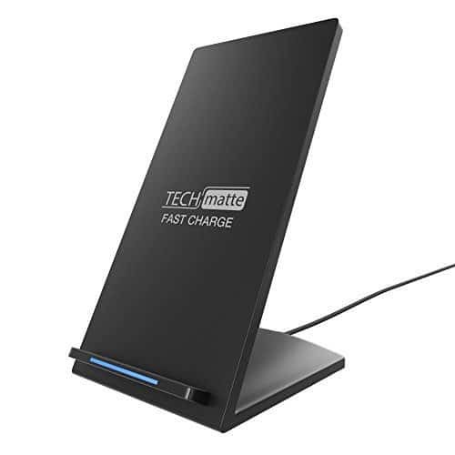 TechMatte Wireless Charger & Stick on Wallet Review 1