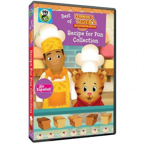 Daniel Tiger's Neighborhood: Recipe for Fun Collection DVD Review 5