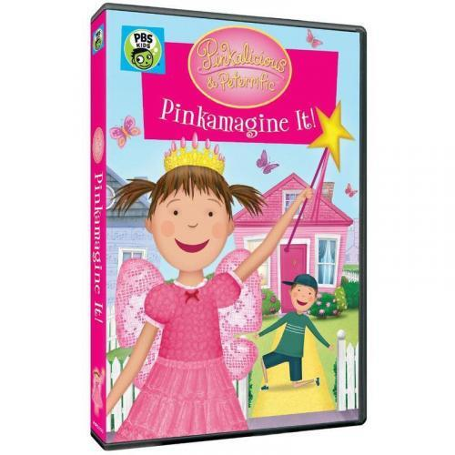 Pinkalicious and Peterrific: Pinkamagine It DVD and Book Review 6