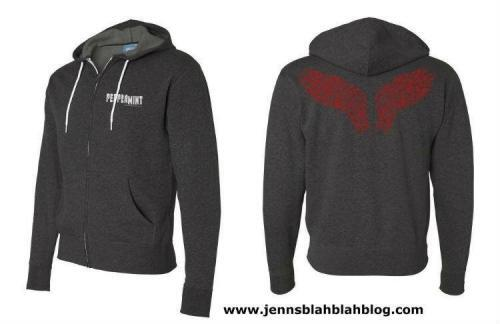 Win a Peppermint hoodie and poster signed by Jennifer Garner! Giveaway 7