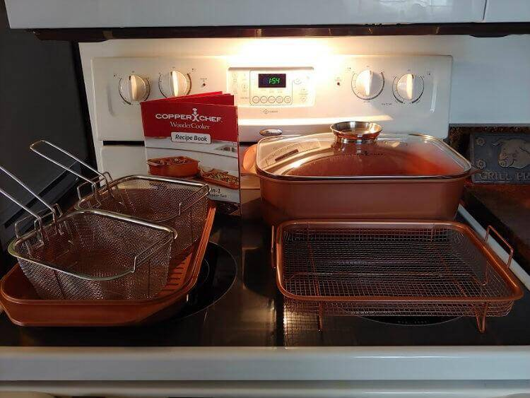 It's Wonderful! The Copper Chef Wonder Cooker XL 6