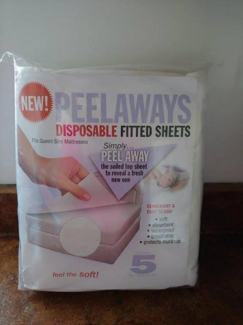 Win a Package of Peelaways Disposable Fitted Sheets Giveaway 3