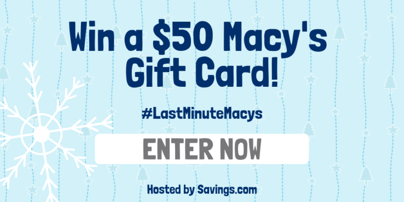 Macy $50 Gift CArd Giveaway