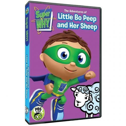 Super Why: The Adventures of Little Bo Peep and Her Sheep DVD Review 4