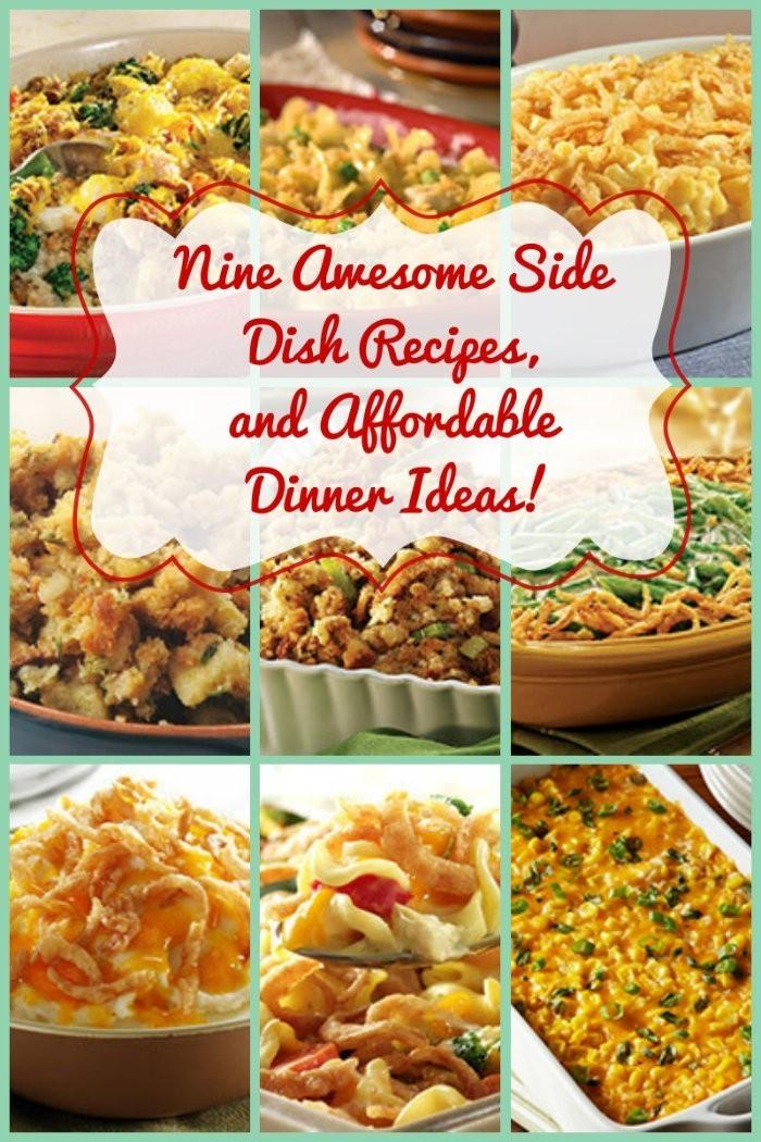 Nine Side Dish Recipes & Affordable Dinner Ideas You'll Love! 5